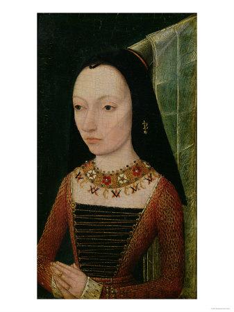 Margaret of York (1446-1503) Duchess of Burgundy, circa 1477