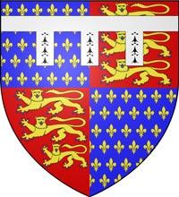 ジョン・オブ・ゴーントの紋章 Arms of John of Gaunt
