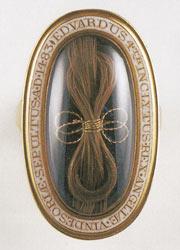 エドワード四世の遺髪を納めた指輪
