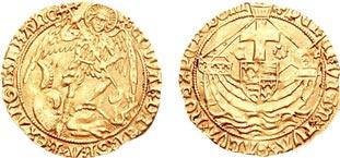 エンジェル金貨 Edward IV Angel