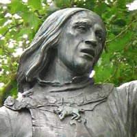 King Richard III statue in Castle Gardens