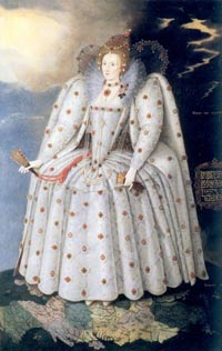 エリザベス一世 Queen Elizabeth I  'The Ditchley portrait'