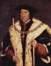 3代ノーフォーク公 Thomas Howard, 3rd Duke of Norfolk, by Hans Holbein