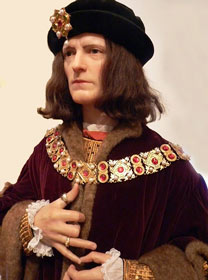 King Richard III at Madame Tussauds in London