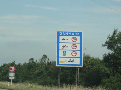 2012 夏のバカンス  ドイツ ⇒ デンマーク