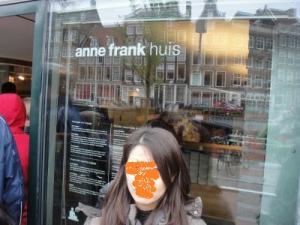 オランダ anne frank house
