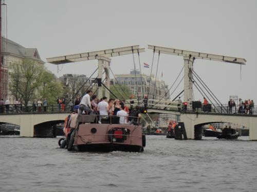 オランダ Amsterdam  マヘレのハネ橋