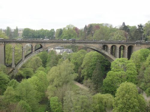 ルクセンブルク アドルフ橋
