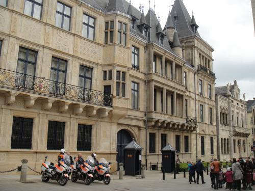 ルクセンブルク 大公宮
