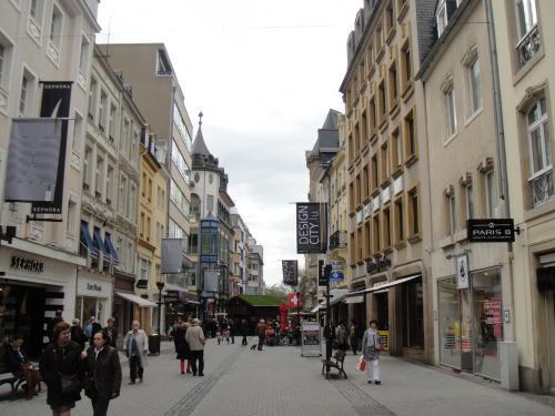 ルクセンブルク 街並み