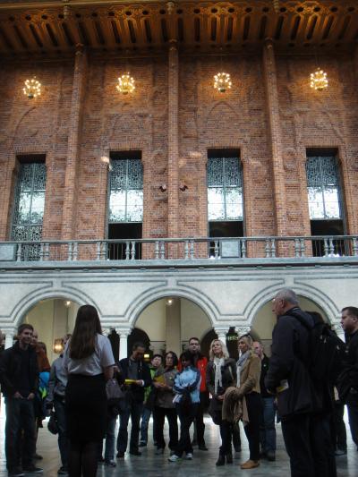 06 2012 Stockholm ( 市庁舎・ブルーホールの大広間)
