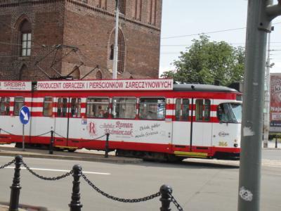 街を走る路面電車