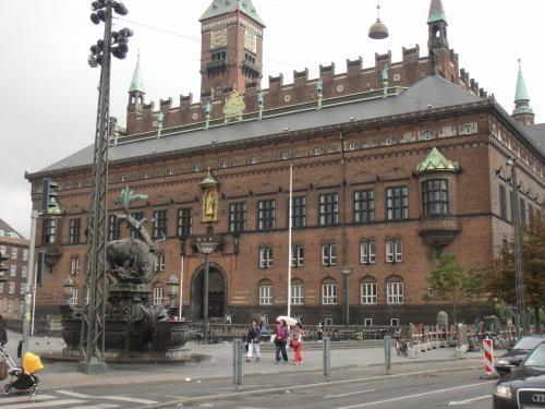 2012 夏のバカンス コペンハーゲン市庁舎