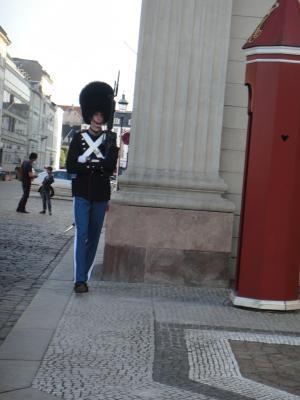 2012 夏のバカンス コペンハーゲンの衛兵