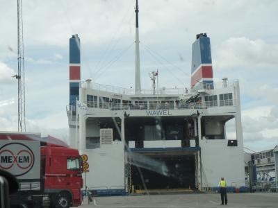 2012 夏のバカンス スウェーデンYstadからの船