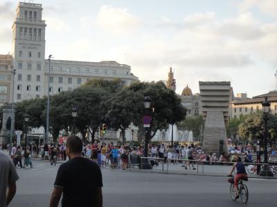 2012 夏のバカンス  in Spain カタル-ニャ広場