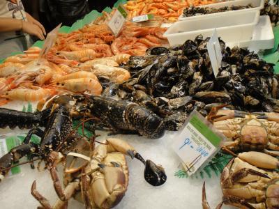 2012 夏のバカンス  in Spain  サン・ジュセップ市場
