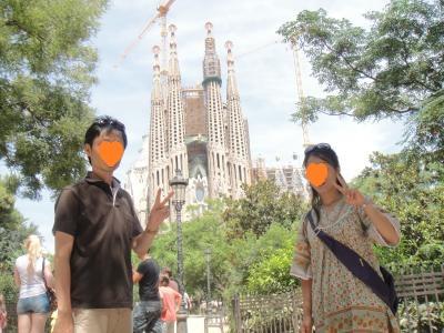 2012 夏のバカンス  in Spain  サグラダ・ファミリア教会