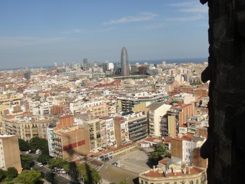 2012 夏のバカンス in Spain サグラダ・ファミリア聖堂