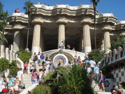 2012 夏のバカンス  in Spain  グエル公園