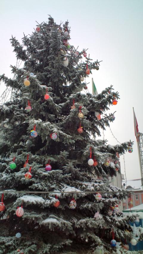 12 2012  街のクリスマスツリー
