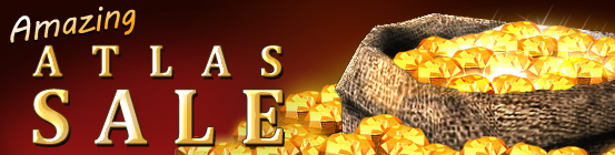 Amazing Fall Atlas Ore Sale!