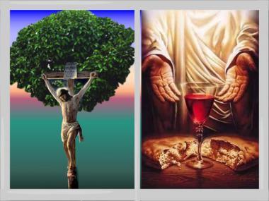 命の木十字架