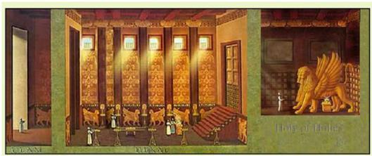 ソロモンの神殿の内部
