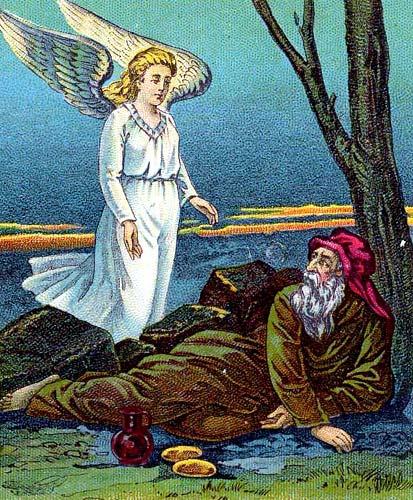 天使が養う
