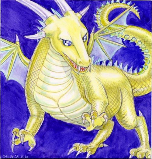 豪華なドラゴン