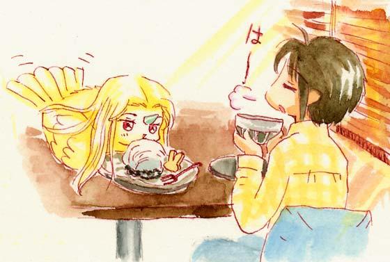 「うさぎとぼく」というカフェ