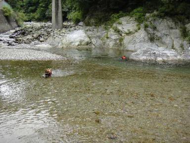 大好きな櫛田川