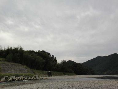 9月最後の川
