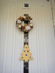 太太さんのクリスマスリース