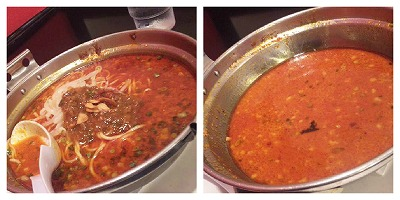 麻辣炎鍋麺