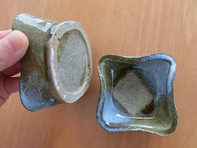 小鉢(古美濃山土)