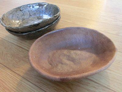 楕円中鉢(古美濃山土)