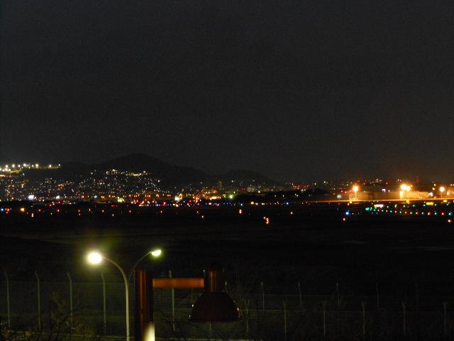 伊丹空港 夜景 004