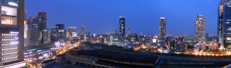 グランフロント大阪 夜景パノラマ 1