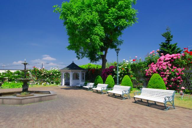 函館市旧イギリス領事館庭園