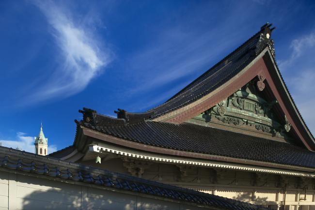 東本願寺函館別院とカトリック元町教会