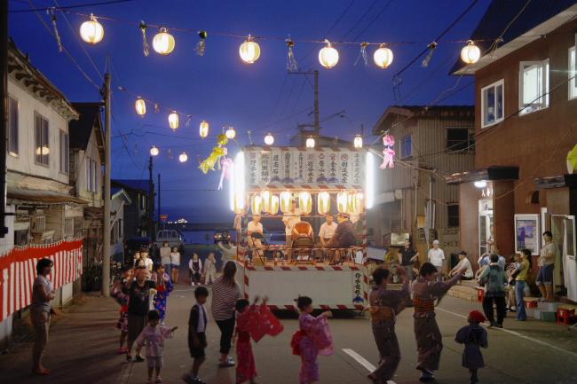 港函館祭り時