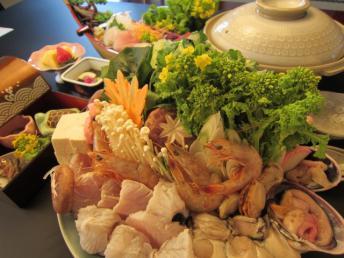 旬菜海鮮鍋プラン