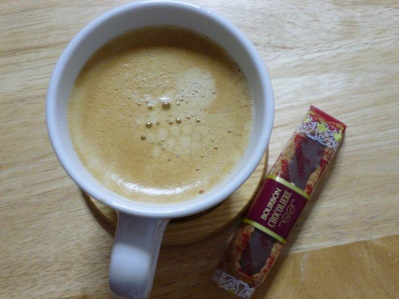 グルグル後のコーヒー