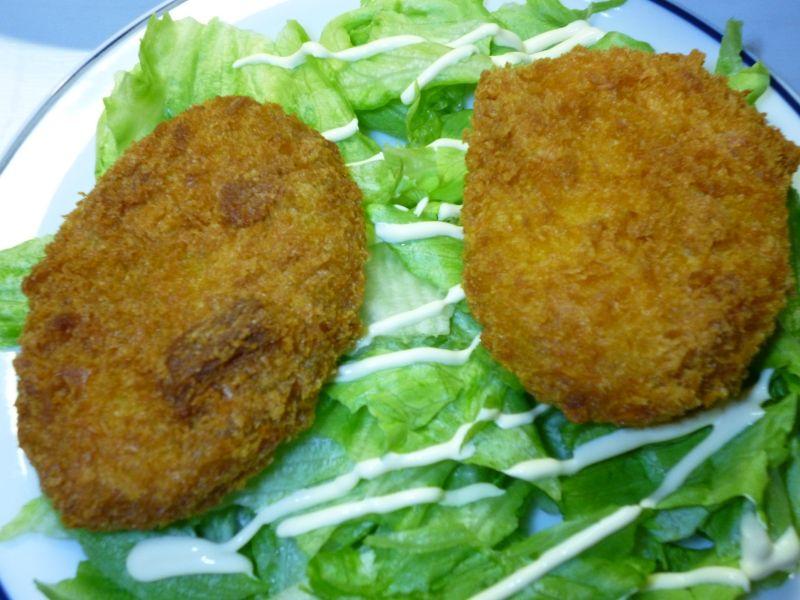 野菜・カボチャコロッケ