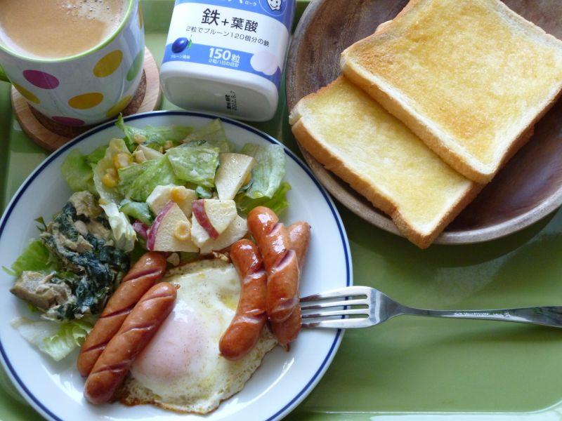 ボリューミー朝食