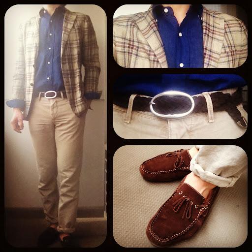 ブラウン小物で締めるジャケットスタイル | Daniel & Bob