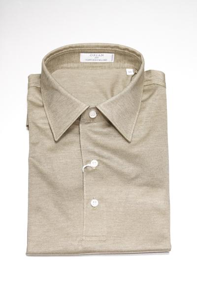 襟がないと落ち着かない!? | ORIAN ポロシャツ