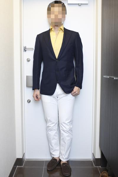 ジャケットとポロシャツの組み合わせ | ORIAN