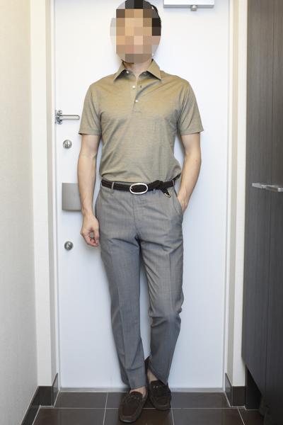 同系色ポロシャツ(イエロー、ブロンド、ブラウン)のコーディネート(3) | ORIAN & Drumohr